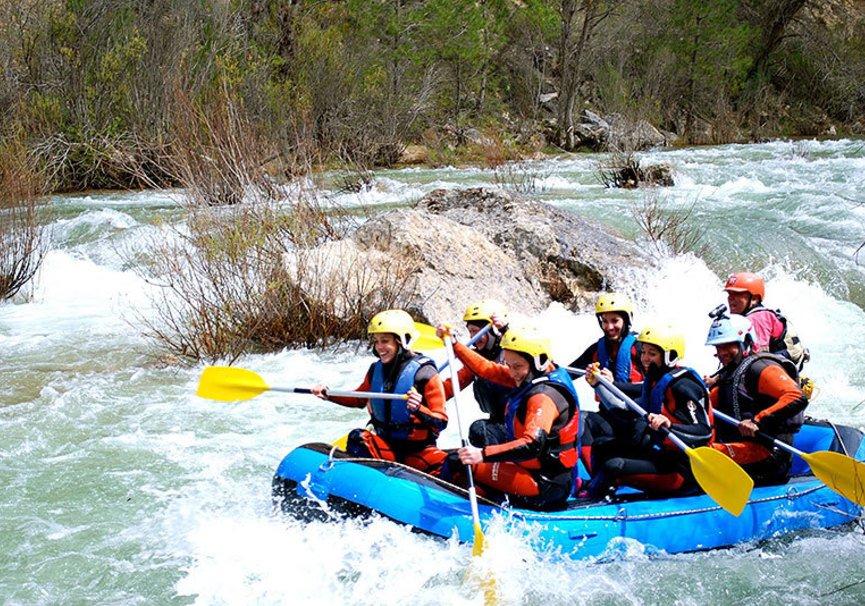 Medium rafting alto tajo