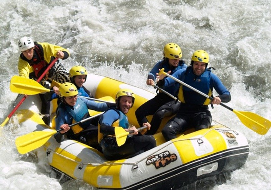 Medium rafting guadalfeo tramo familiar