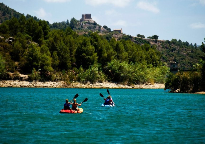 Medium multiaventura kayak vista castillo alcalaten