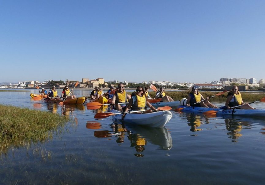 Medium kayak tour in ria formosa 27 1024x686
