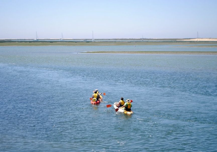 Medium kayak tour in ria formosa 8 1024x686