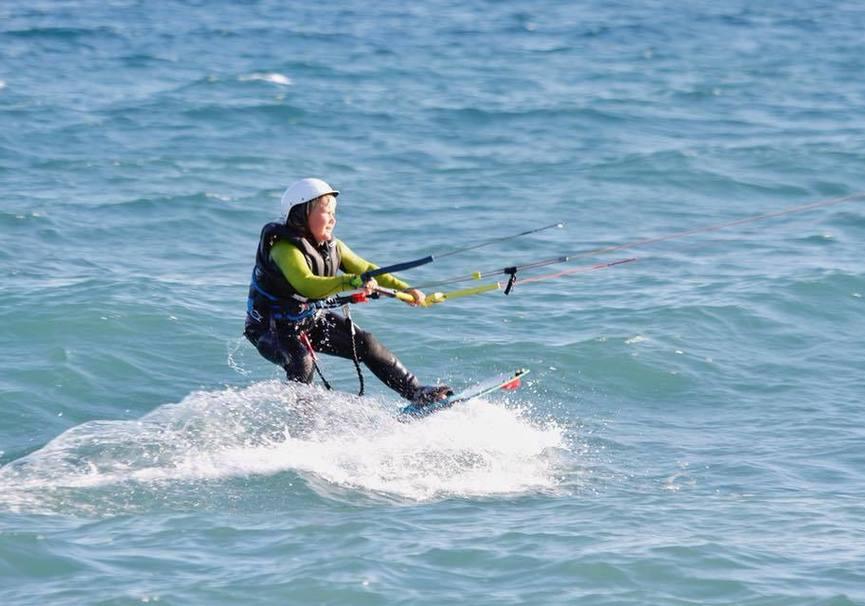 Medium curso medio kitesurf almeria