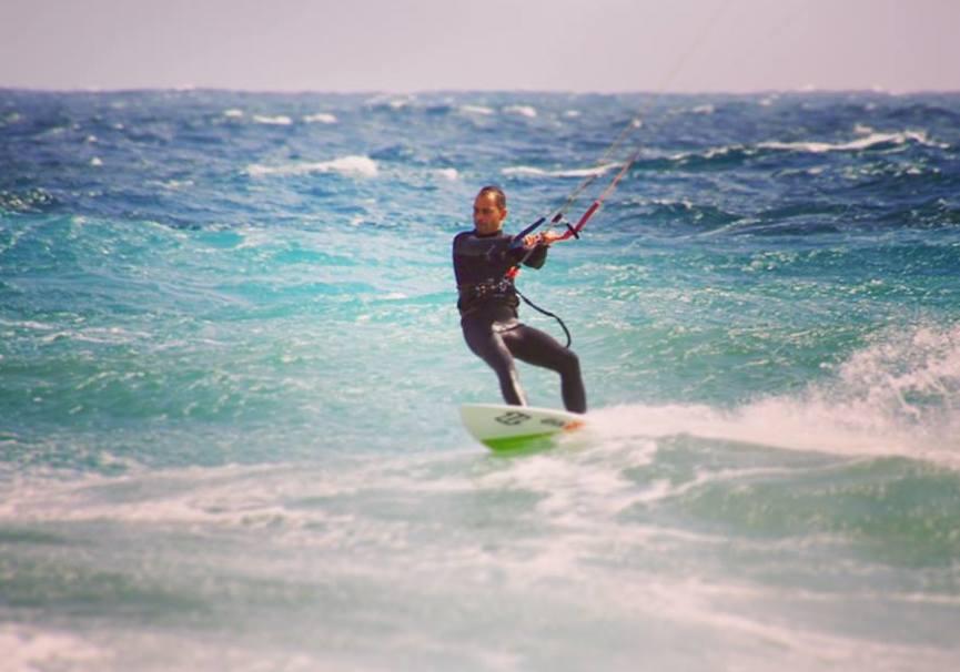 Medium curso avanzado kitesurf almeria