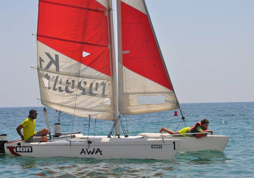 Medium catamaran almeria curso basico