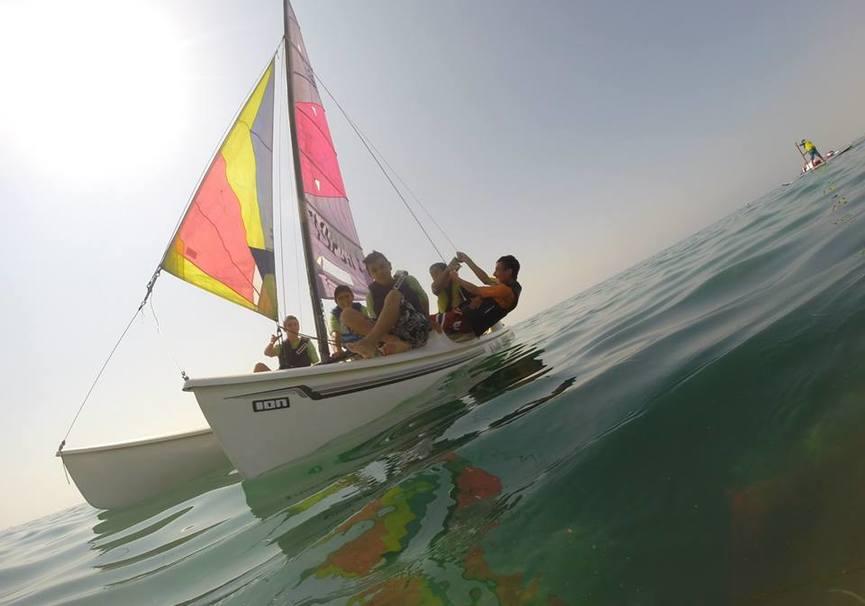 Medium curso avanzado catamaran almeria
