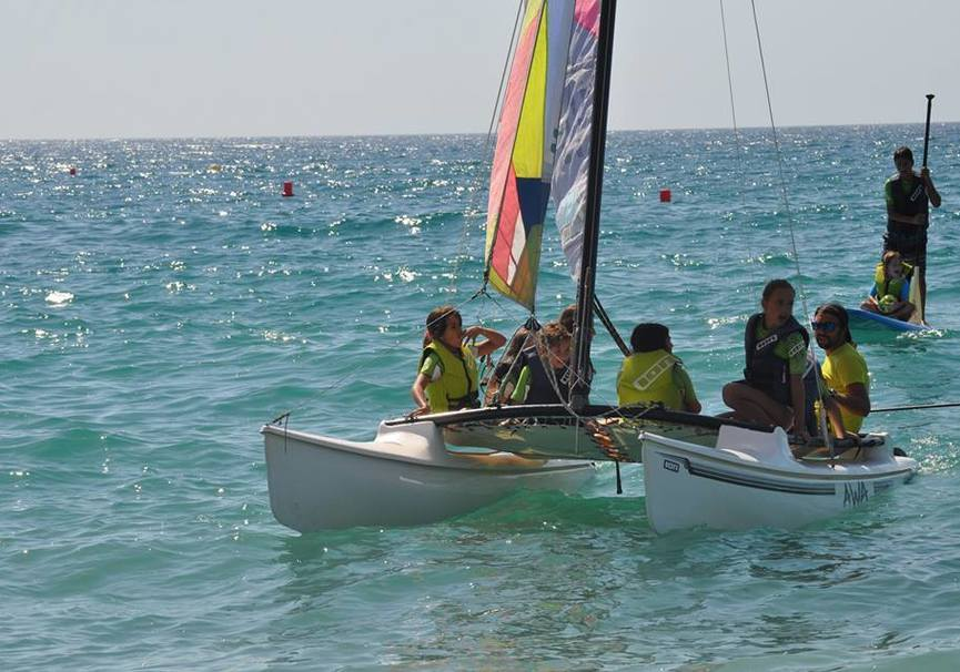 Medium curso medio catamaran almeria