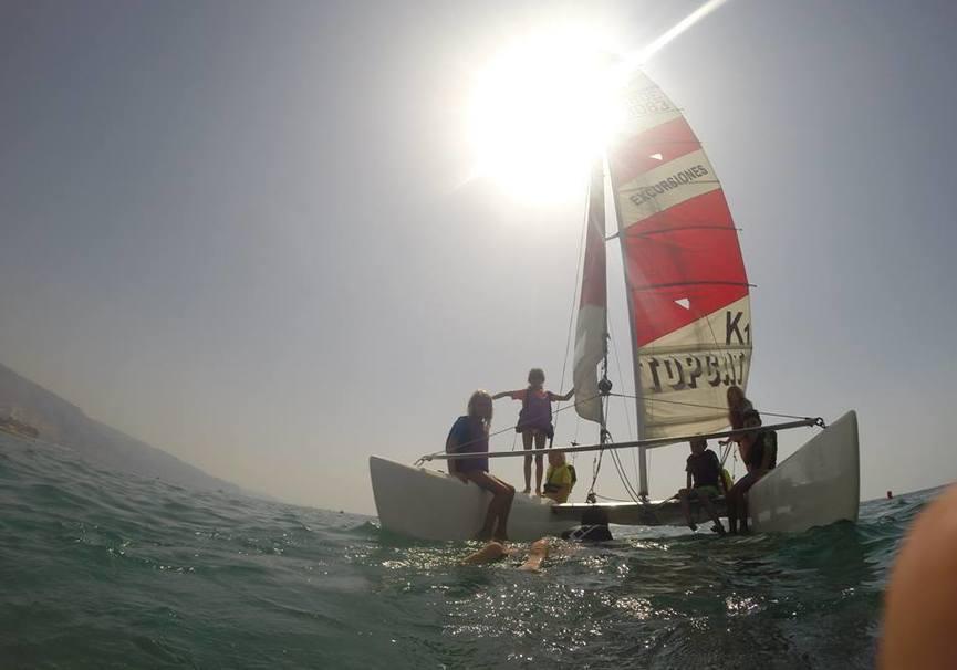 Medium curso medio almeria catamaran