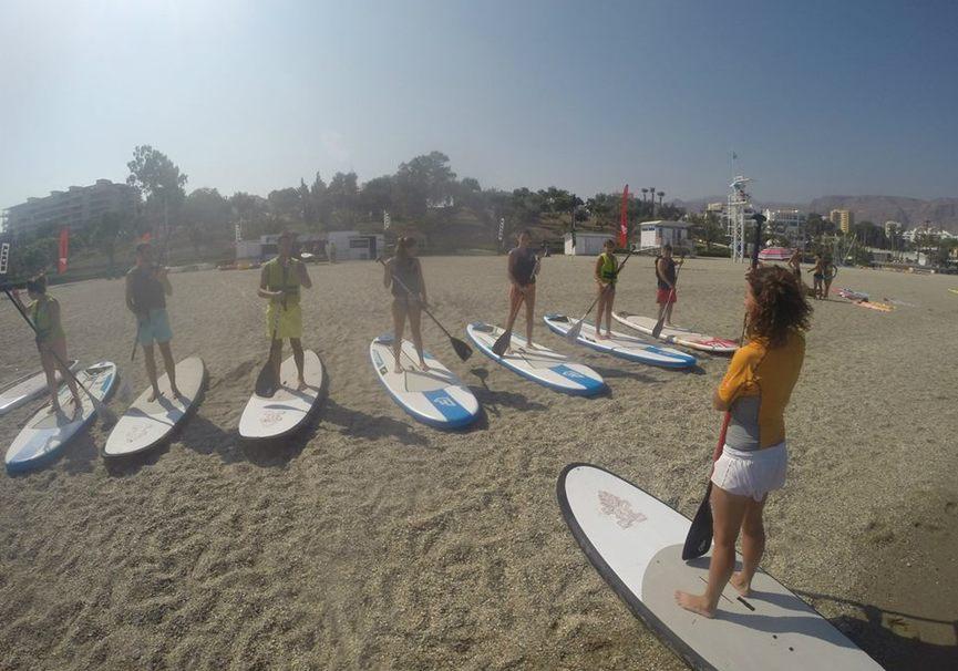 Medium curso iniciacion paddle surf