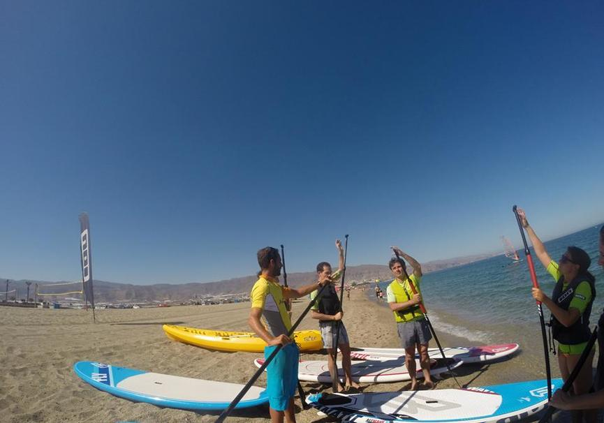 Medium iniciacion paddle surf almeria