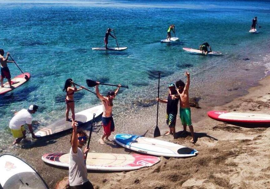 Medium curso basico paddle surf almeria