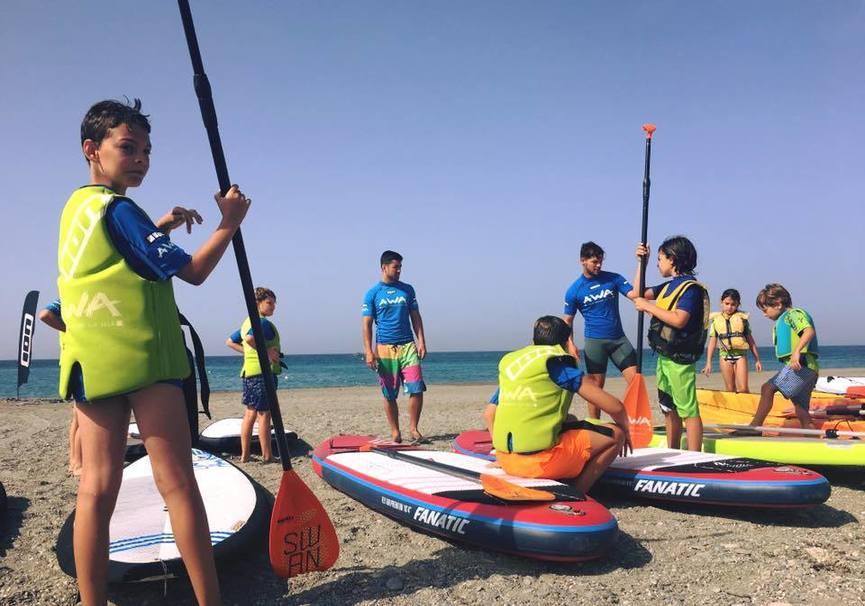 Medium curso iniciacion granda paddle surf