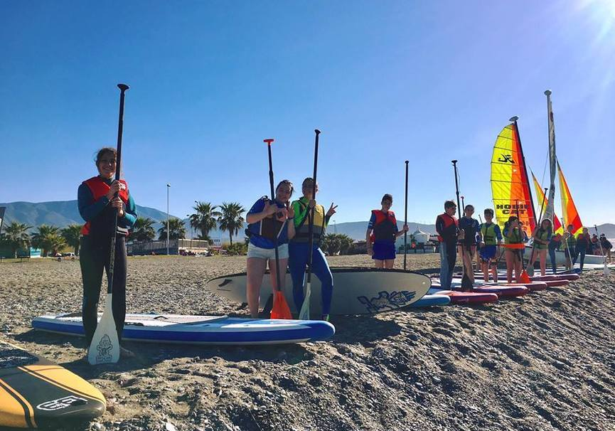 Medium curso iniciacion paddle surf granada