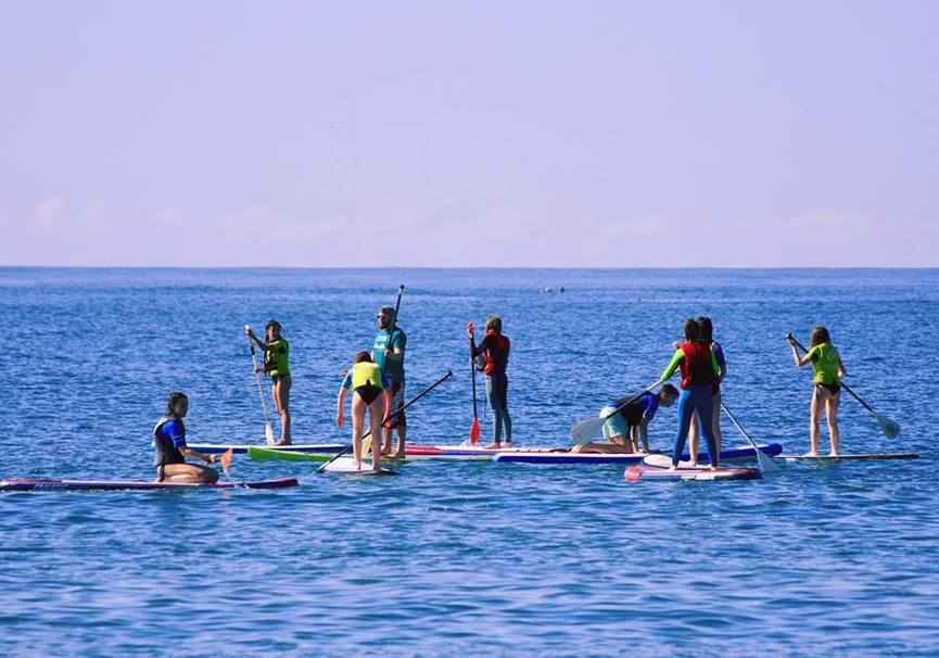 Medium curso basico paddle surf granada