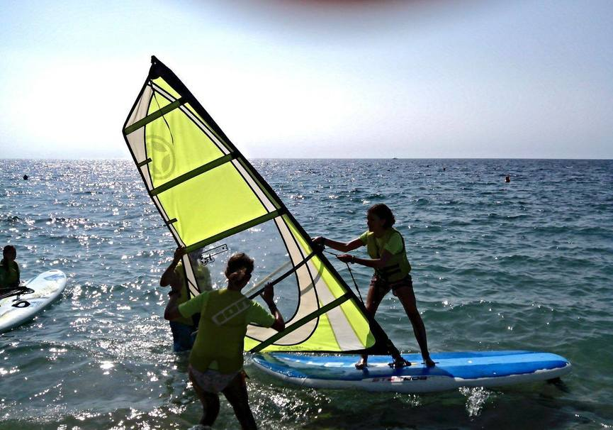 Medium almeria curso iniciacion windsurf