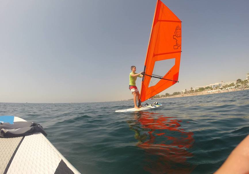 Medium almeria curso medio windsurf