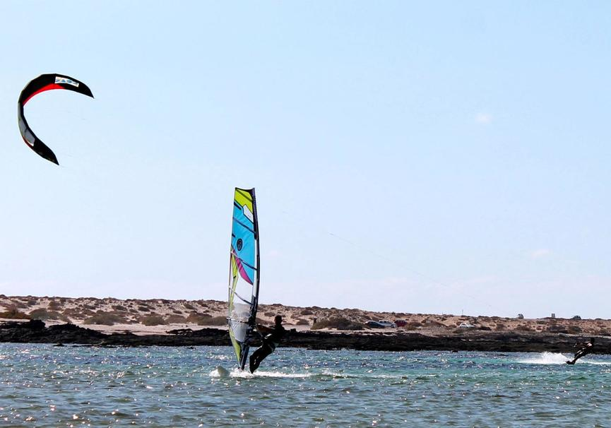 Medium windsurf almeria curso medio
