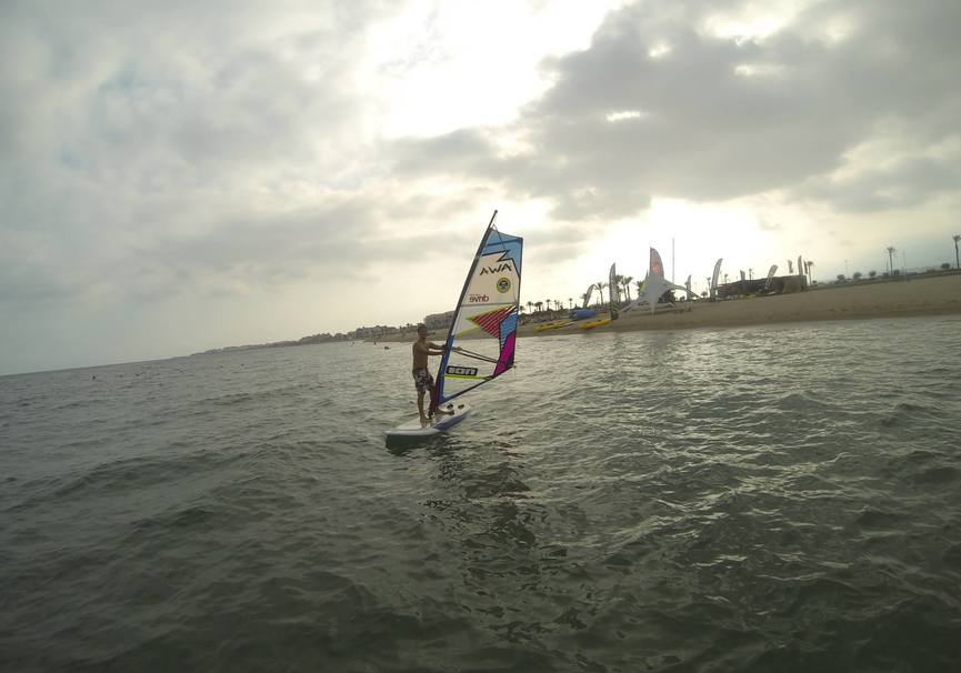 Medium curso medio windsurf almeria