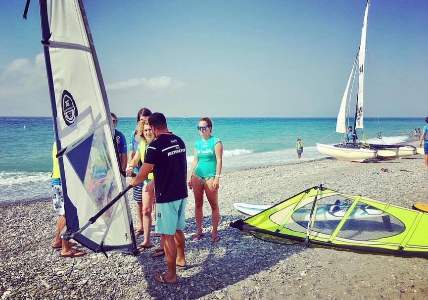 Medium windsurf granada curso iniciacion