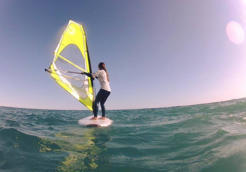 Medium curso basico granada windsurf