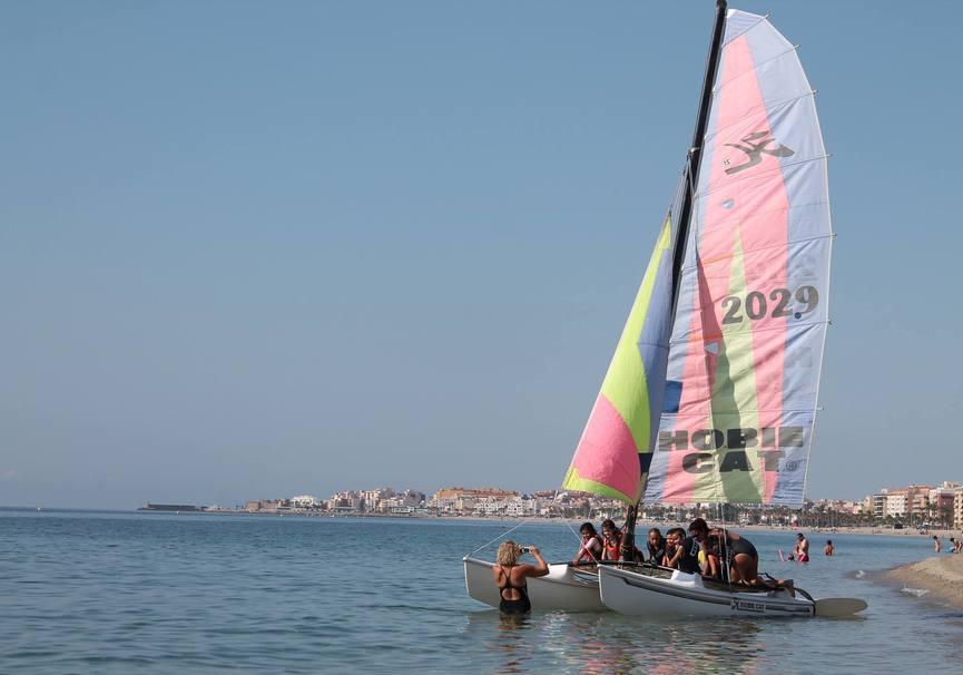 Medium almeria excursion catamaran