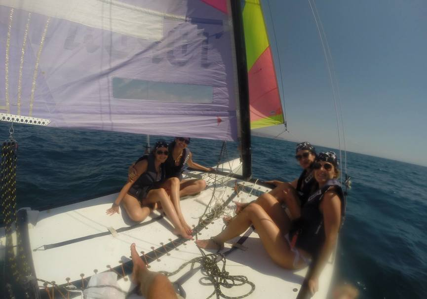 Medium catamaran almeria excursion