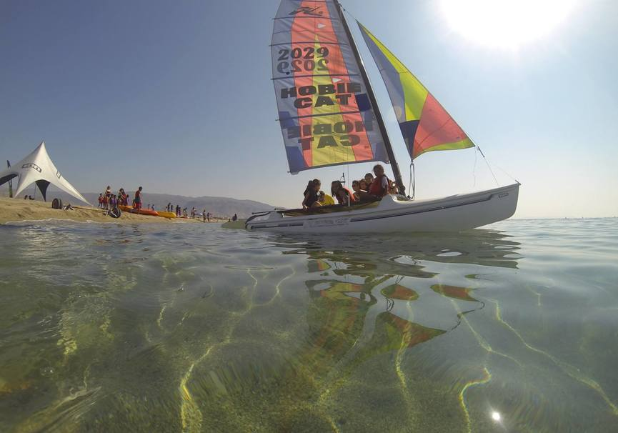 Medium catamaran excursion almeria