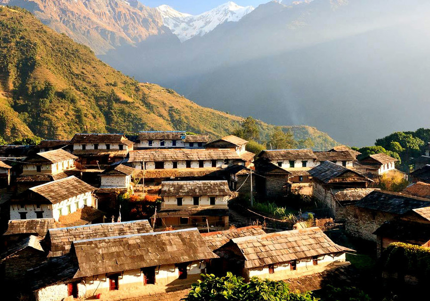 Medium ghorepani ghandruk dhampus