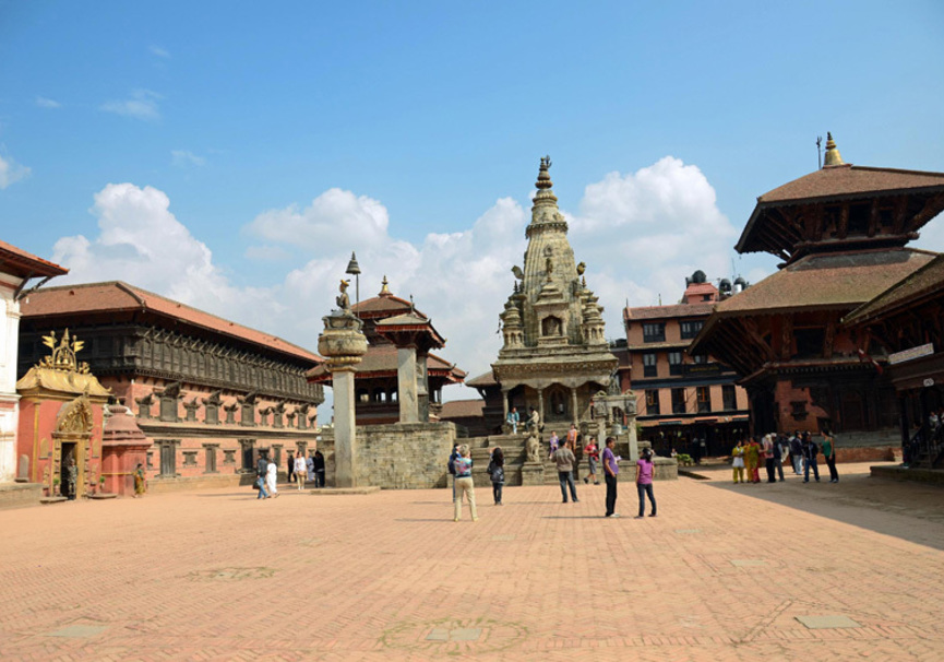 Medium bhaktapur durbar square