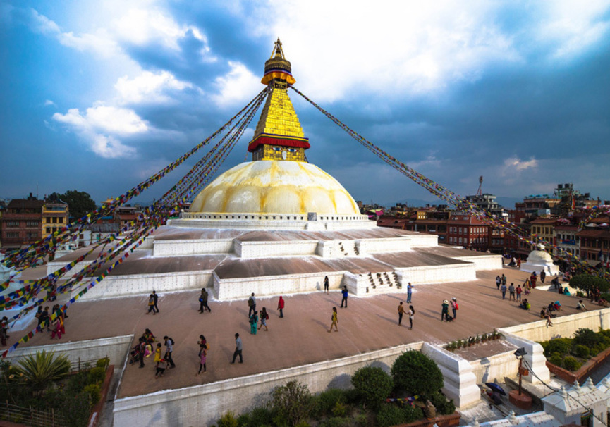Medium boudhanath stupa