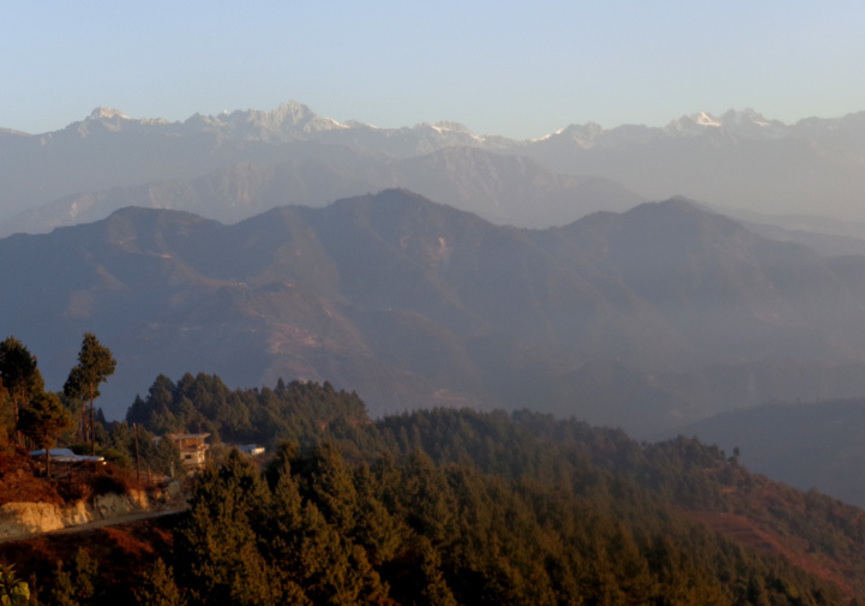 Medium view from the top of nagarkot