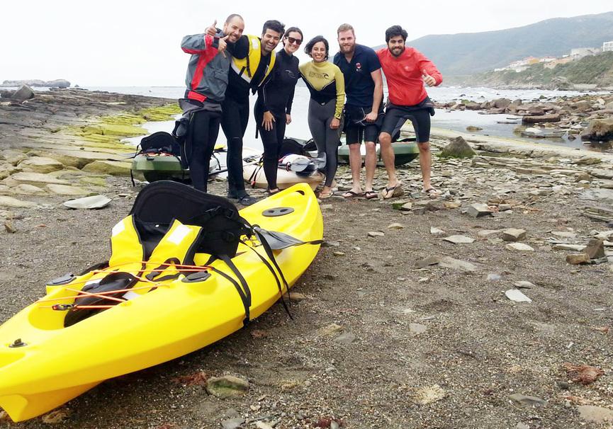 Medium kayak en andalucia ruta kayak monitores velair