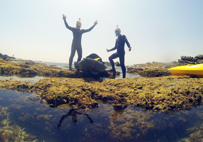 Medium kayak en andalucia ruta kayak snorkel tarifa