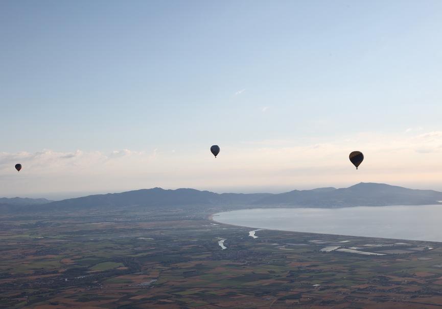 Medium vuelo en globo costa brava