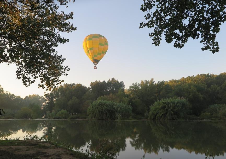 Medium vuelo en globo costa brava 10