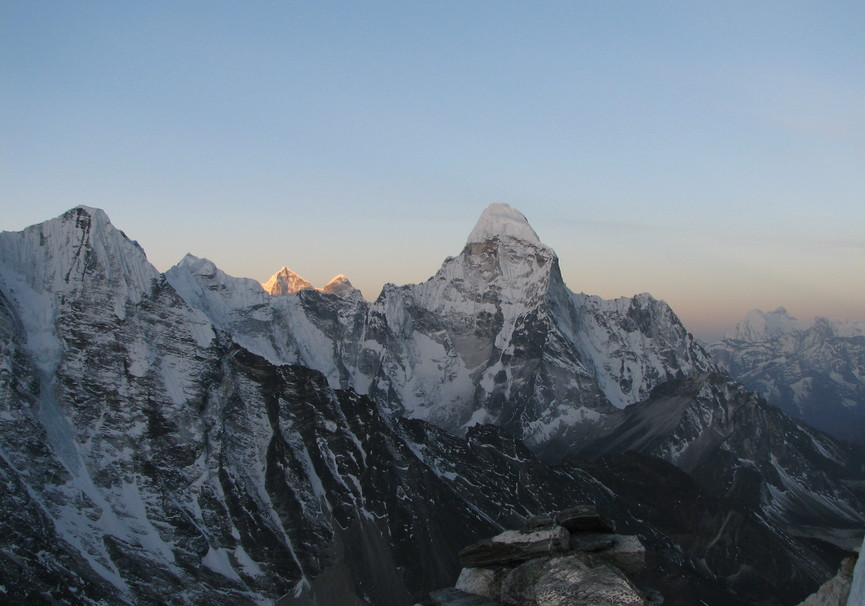 Medium nepal island peak trekking
