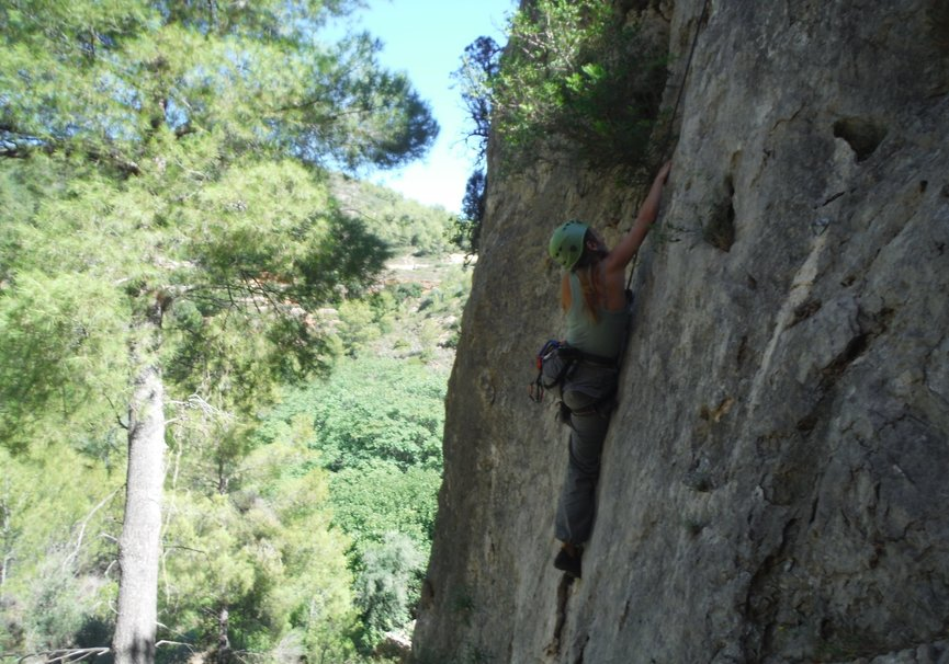 Medium climbing castellon