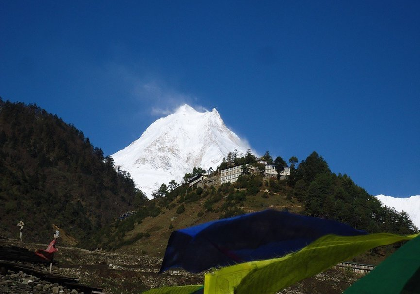Medium mount manaslu and lho gompa.jpg