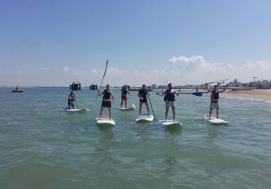 Medium paddle surf cadiz sanlucar do ana activa 2