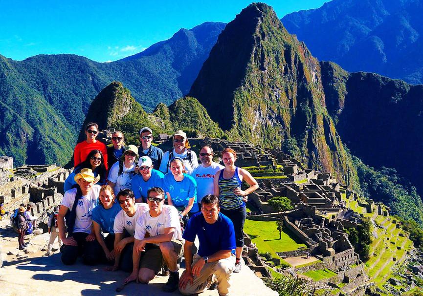 Medium inca trail grupo 2014