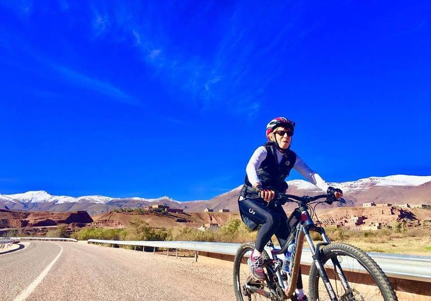 Medium bike tour in morocco