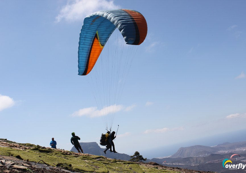 Medium paragliding tenerife gliding tenerife  0578
