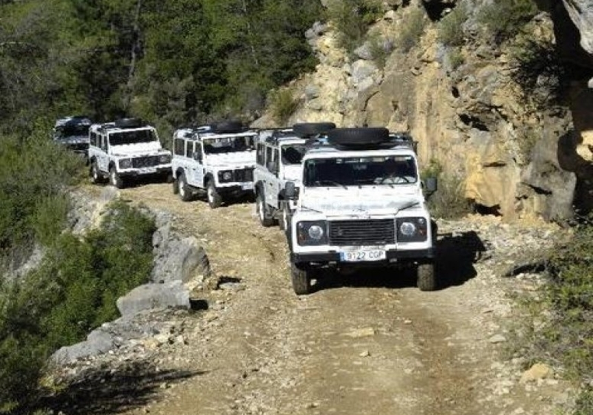 Medium ruta 4x4 cazorla todoterreno