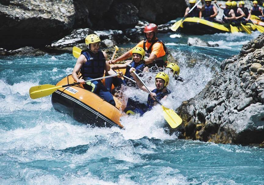 Medium rafting pardollan orense