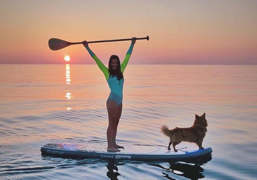Medium ruta guiada de paddle surf o kayak por la herradura y maro11