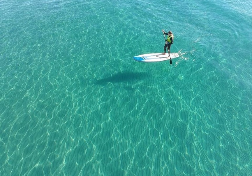Medium ruta guiada de paddle surf o kayak por la herradura y maro10