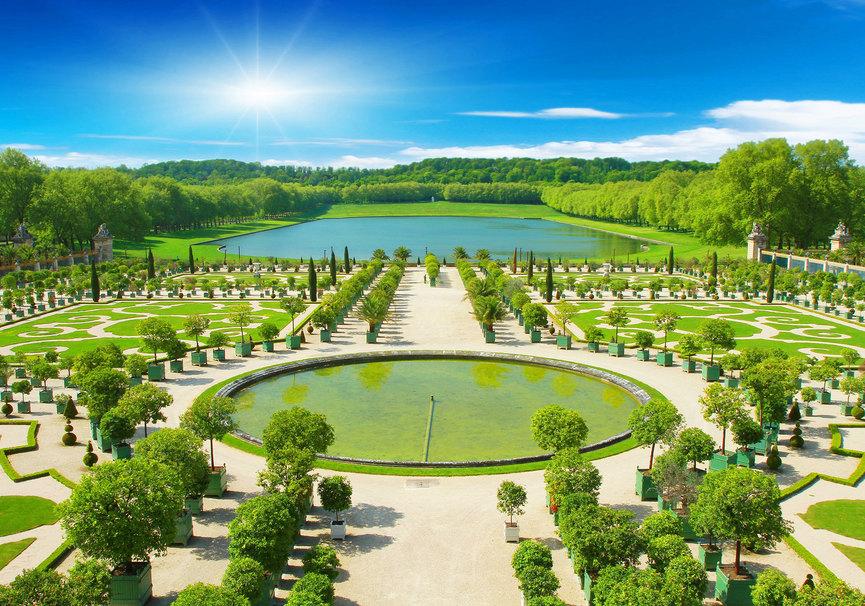 Medium jardines versalles