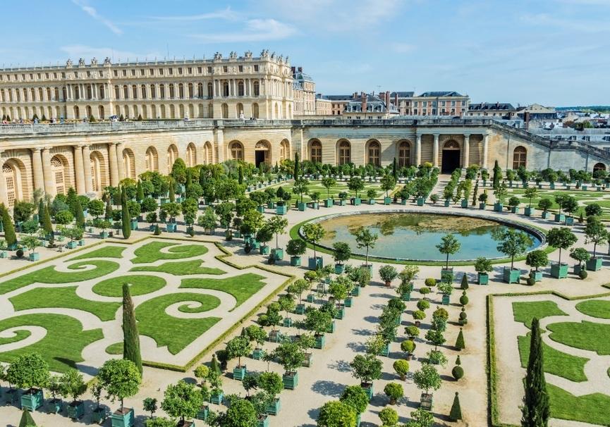 Medium jardines de versalles