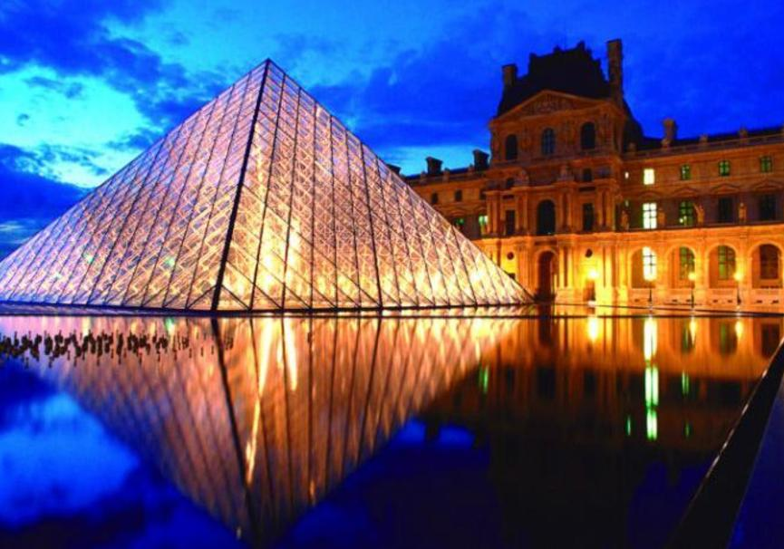 Medium museo de louvre paris p