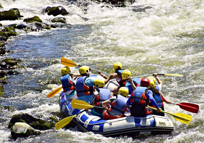 Medium rafting rio sil