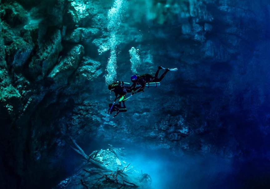 Medium three days advanced cavern package three cenotes 1